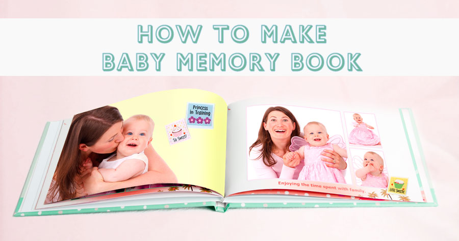 how to make a baby memory book photojaanic blog